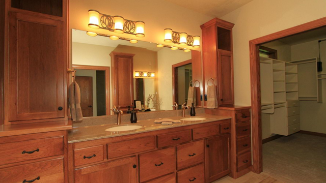 Wolfinger Custom Home - Master Bath